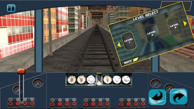 Driving Metro Train 3D Game App From 9App Games